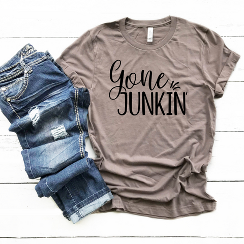 T-SHIRT + GONE JUNKIN