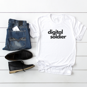 T-SHIRT + DIGITAL SOLDIER