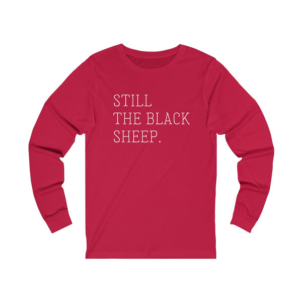 LONG SLEEVE + BLACK SHEEP
