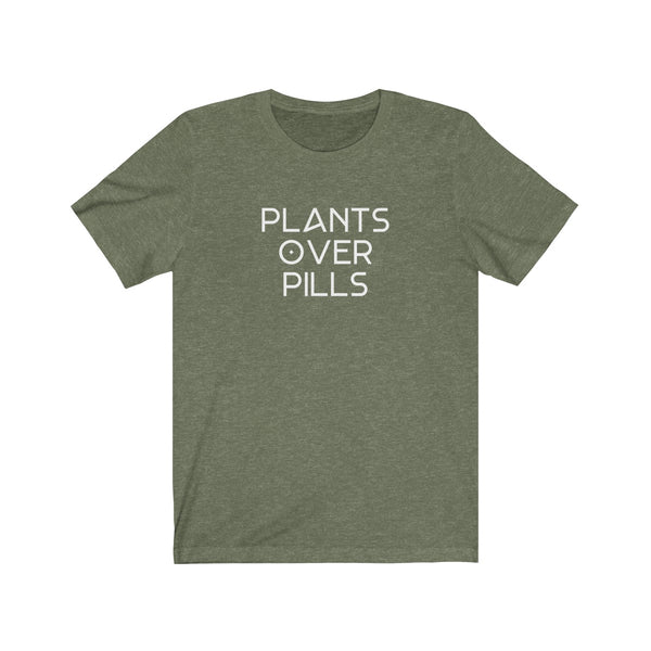 T-SHIRT + PLANTS OVER PILLS