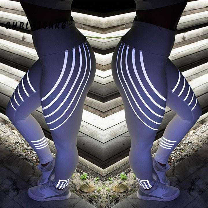 LED Stripe Leggings
