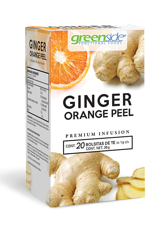 GINGER ORANGE PEEL 20 BOLSITAS