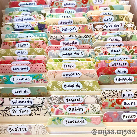 The Best Ways To Organize Your Planner Stickers | Miss Moss Gifts