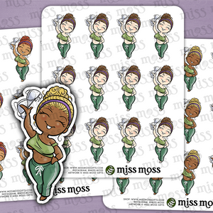 Bra Free! Planner Stickers - Miss Moss Gifts