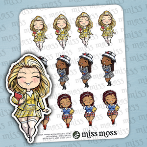 Clueless Sticker Sampler - Miss Moss Gifts