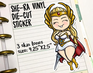 She-Ra Vinyl Die Cut Sticker