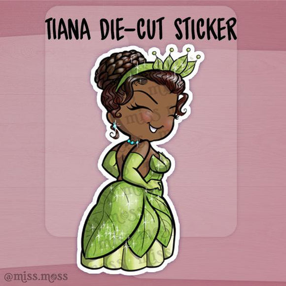 Southern Princess Die-Cut Sticker - Miss Moss Gifts