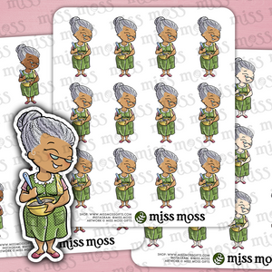 Grandma Planner Stickers - Miss Moss Gifts