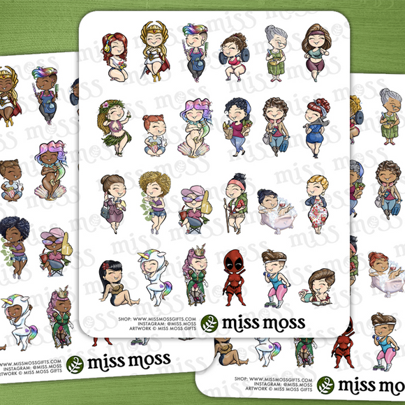 Miss Moss Minis v2.0 - Miss Moss Gifts