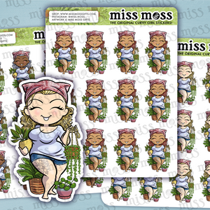 Plant Mom Planner Stickers - Miss Moss Gifts