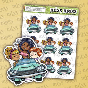 Road Trip Planner Stickers - Miss Moss Gifts