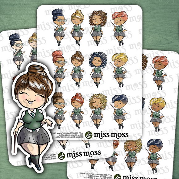 Slytherin Harry Potter Inspired Stickers - Miss Moss Gifts