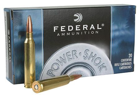 Federal 22-250 Power-Shok 55gr Soft Point *20 Rounds