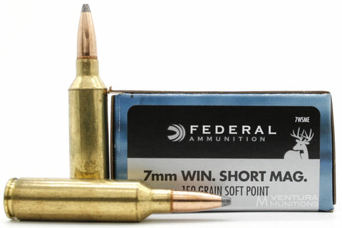 Federal 7mm WSM Power-Shok 150gr Soft Point *20 Rounds