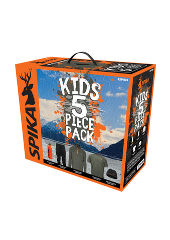 SPIKA Kids 5 Piece Box Pack