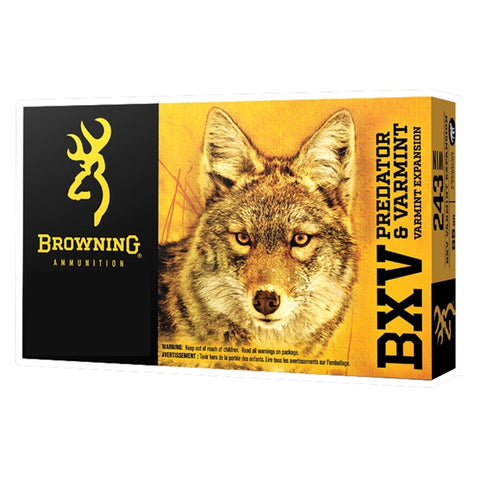 Browning BXV .243 Win 65gr VE (20)