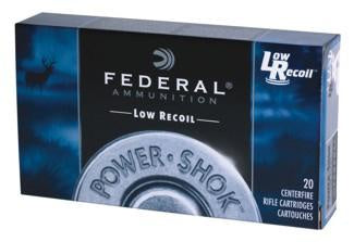 Federal 308 Power Shok 180gr Soft Point *20 Rounds