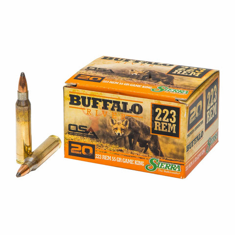 Buffalo River 223 REM 55gr Game King