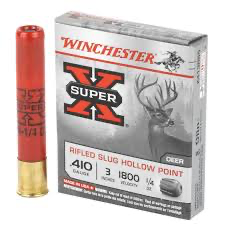 "Winchester SuperX .410 G r/slug 3"" 7gm (5)"