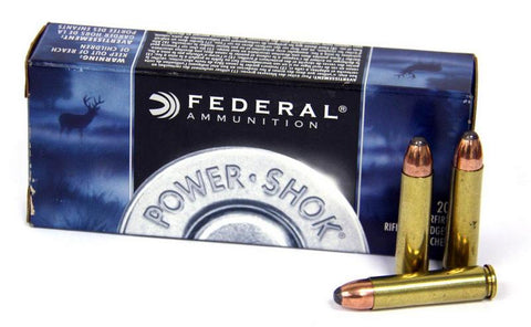 Federal 30-30 Power-Shok 125gr Jacketed Hollow Point *20 Rounds