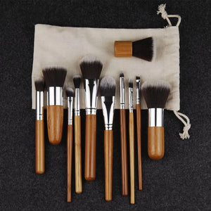 Bamboo Makeup Brushes