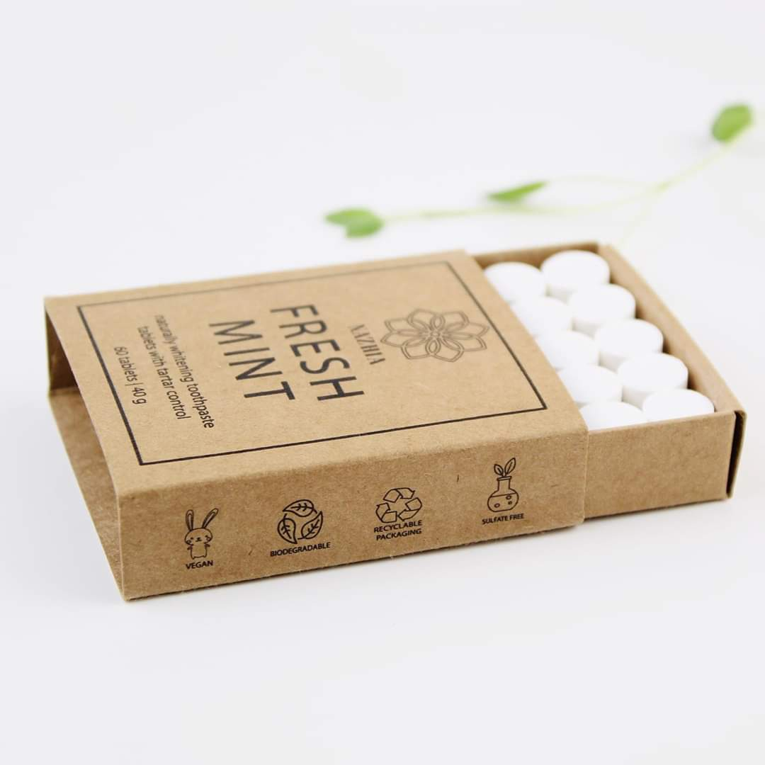 Fresh Mint Toothpaste Tablets