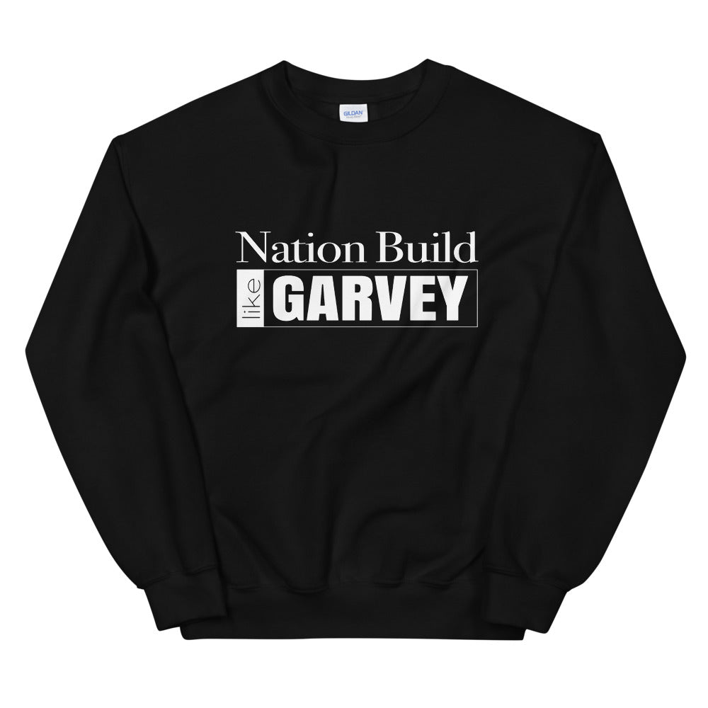 White 'Nation Build' Sweatshirt
