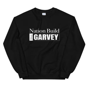 Open image in slideshow, White 'Nation Build' Sweatshirt