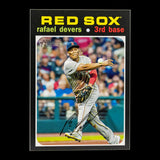 Rafael Devers | 2020 Topps Heritage ACTION Variations SP #145 | Redsox