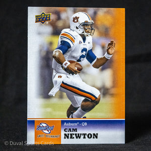 cam newton 2011 upper deck rookie card auburn tigers new england patriots Football Cards - Duval Sports Cards