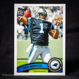 Cam-Newton-Topps-RC-Rookie-Card-Panthers-Patriots-Football-Cards-Duval-Sports-Cards-#iDuval