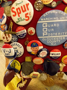Large Lot of Vintage Pins