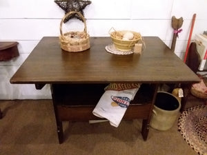 Lancaster County Tavern Bench Table