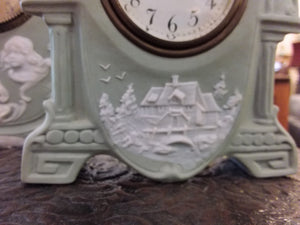 Jasperware Clock Set