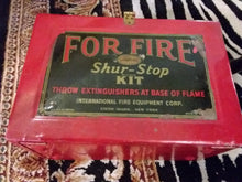 Shur Stop Fire Extinguisher Kit