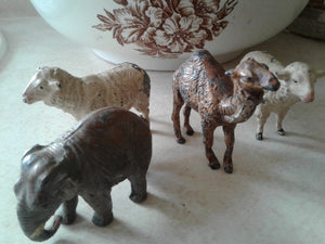 Old Lead German Toy Animals