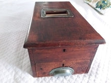 Antique Wooden Cash Register/Box
