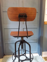 Toledo Metal Furniture Co. Drafting Stool