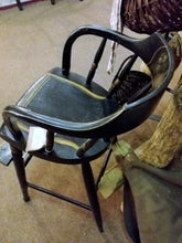 Early Tole Painted High Chair-Pickup Only