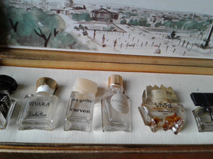 Vintage French Perfume Bottles