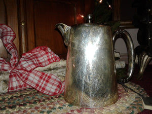 Antique Silverplate Coffee Pot