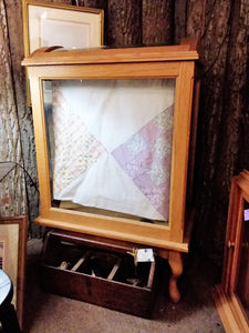 Quilt Display Cabinet