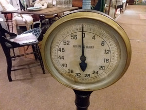 Old Detecto Industrial Scale