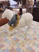 Large Paper Mache Display Sheep