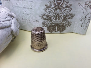 German Silver Thimble