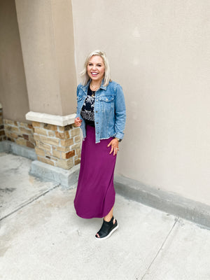 Three Ways to Style a Maxi Skirt