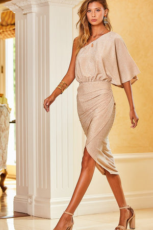 Ayline One Shoulder Dress