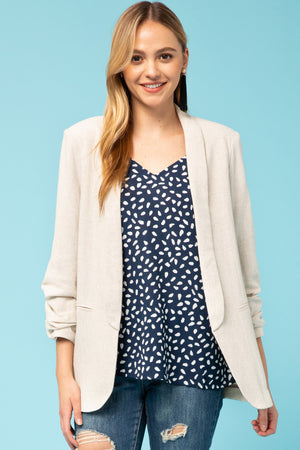 Aria Natural Blazer