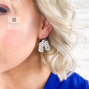 Mini Dot Bliss Clay Earrings