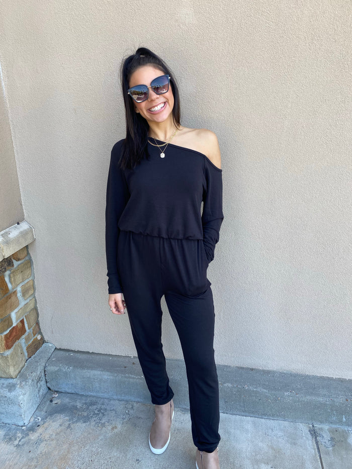 Arielle Jumpsuit (Black)